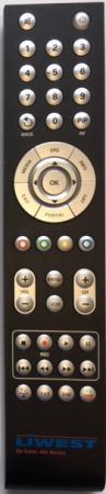 TT-SMART C2821 Receiver Ersatz-Fernbedienung